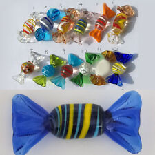 24 Styles Vintage Murano Glass Sweets Candy Christmas Wedding Party Decorations