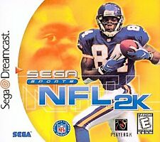Factory Sealed Sega Dreamcast NFL 2K Video Game Football