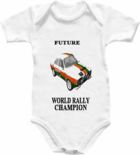 Baby Grow Rally Car Champion Babygro Shirt MK1 Escort