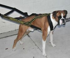 """Dean & Tyler """"DT Guide"""" Leather Mobility Dog Harness"""
