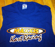 MAXXIS KART RACING SLEEVELESS T SHIRT BLUE