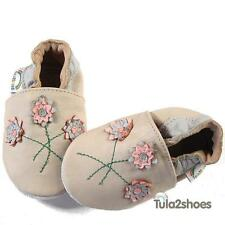 SOFT LEATHER BABY GIRLS SHOES  0-6 6-12 12-18 18-24 M