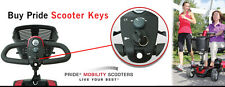 Pride Mobility Electric Senior Scooter Keys Pair - New Key Different Sizes