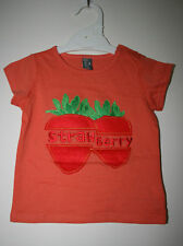 Girls Zara  T-shirts With Fruit Appliques  - Size 3-4Y, 4-5Y, 5-6Y, 7-8Y.