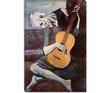 The Old Guitarist Pablo Picasso Canvas Art Print