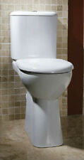 Vision Modern Extended Height High WC Toilet with Seat Cistern and Fittings