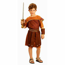Boys Roman Soldier Fancy Dress Costume Child Cowboy Indian 4-12yrs SIZE S M L