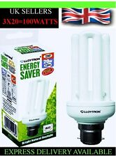 3 x 20w 5600k COOL WHITE Day-light Energy Saving bulb (BAYONET AND SCREW FITTING