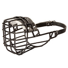 Winter Version of DT Freedom Rubber Covered Wire Dog Muzzle Lets Pant Bark Drink