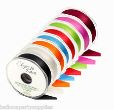 38mm x 20m Double Faced Satin Ribbon 30 Colours *****Free 1st Class Postage*****