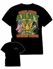 USMC FLAG T SHIRT ARMY,NAVY AIR FORCE, POW-MIA, VIETNAM VETERAN