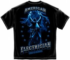 Electrician T-Shirt American Electrician Shirt Made In America AW103