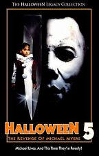 HALLOWEEN 5 The Revenge of Michael Myers Movie Poster Horror