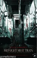 MIDNIGHT MEAT TRAIN Movie Poster Horror Clive Barker