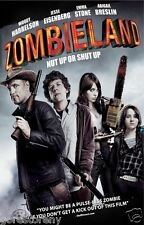 ZOMBIELAND Movie Poster Horror Zombies Survival Rules Woody Harrelson