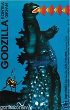 GODZILLA Movie Poster Gojira Monster Gigan Czech Polish Rare Art
