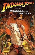 RAIDERS OF THE LOST ARK Movie Poster INDIANA JONES Temple of Doom Harrison Ford