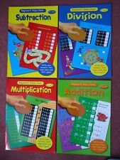 BEGINNERS WIPE-CLEAN BOOKS - ADDITION/SUBTRACTION/DIVISION/MULTIPLICATION