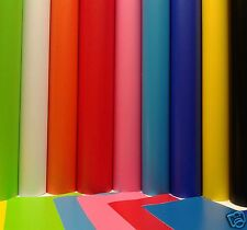 5 MTR ROLL OF 610mm SELF ADHESIVE VINYL STICKY BACK PLASTIC BIG RANGE OF COLOURS