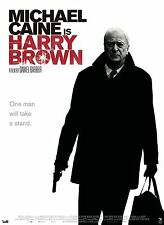 HARRY BROWN Movie Poster Michael Caine Action