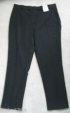 Dorothy Perkins Black Tailored Crop Jeans Trouser (NEW) diff Petite size