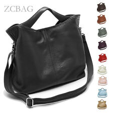 Vintage Genuine Leather Women Handbag Ladies Messenger Shoulder Tote Bag Purse
