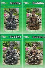 BUDDHA GARDEN HAND CAST ORNAMENT DECORATION FIGURE GOOD LUCK STATUE LUCKY LUCK