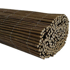 Willow Screening Rolls 4m Long 3 Heigths Available Garden Screen Fence Panel