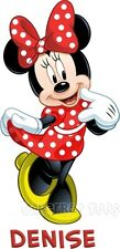 Mickey or Minnie Mouse T-Shirt Personalized YOUR TEXT