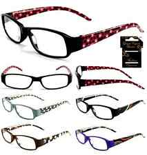 Plastic Color Reading Glasses with Circle Design
