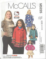 McCall's 5225 CHILDREN'S AND GIRLS' JACKETS