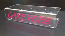 10x CAKE POP HOLDERS POP CAKE STANDS HOLDS 11. CHOICE OF GRAPHICS COLOUR