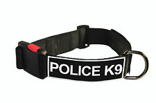 Dog Collar With Velcro Patches by Dean Tyler: Police-K9