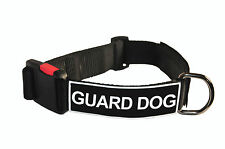 Dog Collar With Velcro Patches by Dean Tyler: Guard Dog