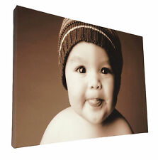 Your Picture Image Photo On Personalised Box Canvas Size 36x24 inch / 24x36 inch