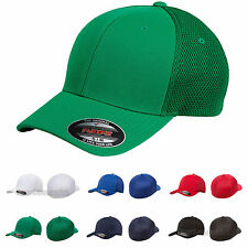 FLEXFIT Mens Ultrafiber Cap with Air Mesh Sides Fitted Trucker Hat S/M L/XL 6533