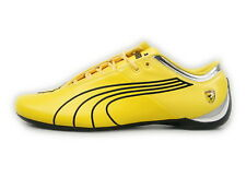 Puma Future Cat M1 Big Cat SF Scuderia Ferrari Yellow Leather Low 303926 03