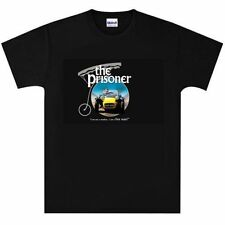 The Prisoner Patrick McGoohan T Shirt New Black