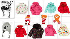 Nwt Gymboree winter puffer jacket hat glove scarf Collection UPICK 2T-12Y