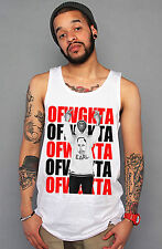 Tyler The Creator Tee Odd Future OFWGKTA Wolf Gang Golf Wang - Bird White Tank