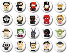 """SOUTH PARK STYLE - 1"""" / 25mm Button Badge - MOVIE CHARACTERS"""