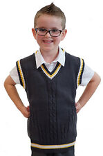 1940's/ww2/WARTIME/Re enactment/World Book Day KIDS KNITTED TANK TOP/PULLOVER