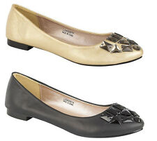 New Womens/Ladies Pumps Elegant Flat Shoes Available in Size 3-8 UK