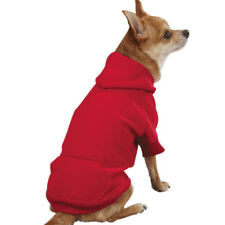Casual Canine Basic Dog Hoodie Soft Cotton All Season Pet Sweatshirt XS - XLG