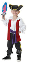 Toddler Captain Feathersword Pirate Halloween Costume