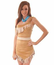 Donna Sexy Lusso POCAHONTAS INDIANA HALLOWEEN FANCY DRESS COSTUME COLLANA 1003