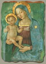 Madonna with Child by Pinturicchio, Italian-Made Fresco Reproduction on Plaster
