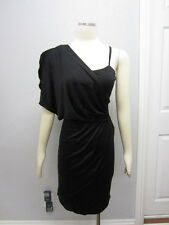 NWT IN ADD MINUS $240 Seta Interlock Asymmetric One Shoulder Dress XS M L SEP