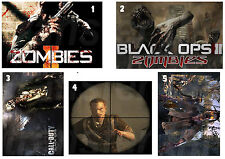 CALL OF DUTY STICKER WALL DECO MW3 BLACK OPS 2 ZOMBIES
