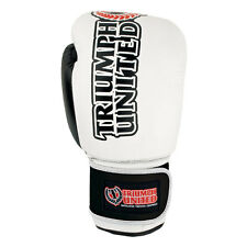 Triumph United Storm Trooper Boxing Gloves (White/Black) - mma sparring bag work
